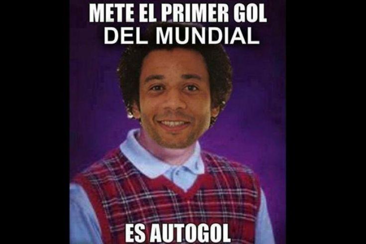 Uno de los memes dedicados a Marcelo