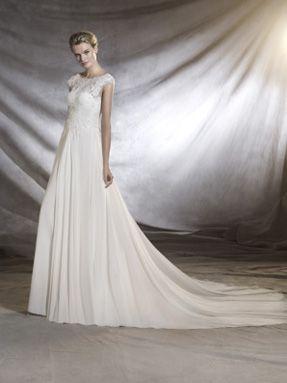 Svatební šaty Pronovias 2017 ve svatebním domě NUANCE. Model Orsini.