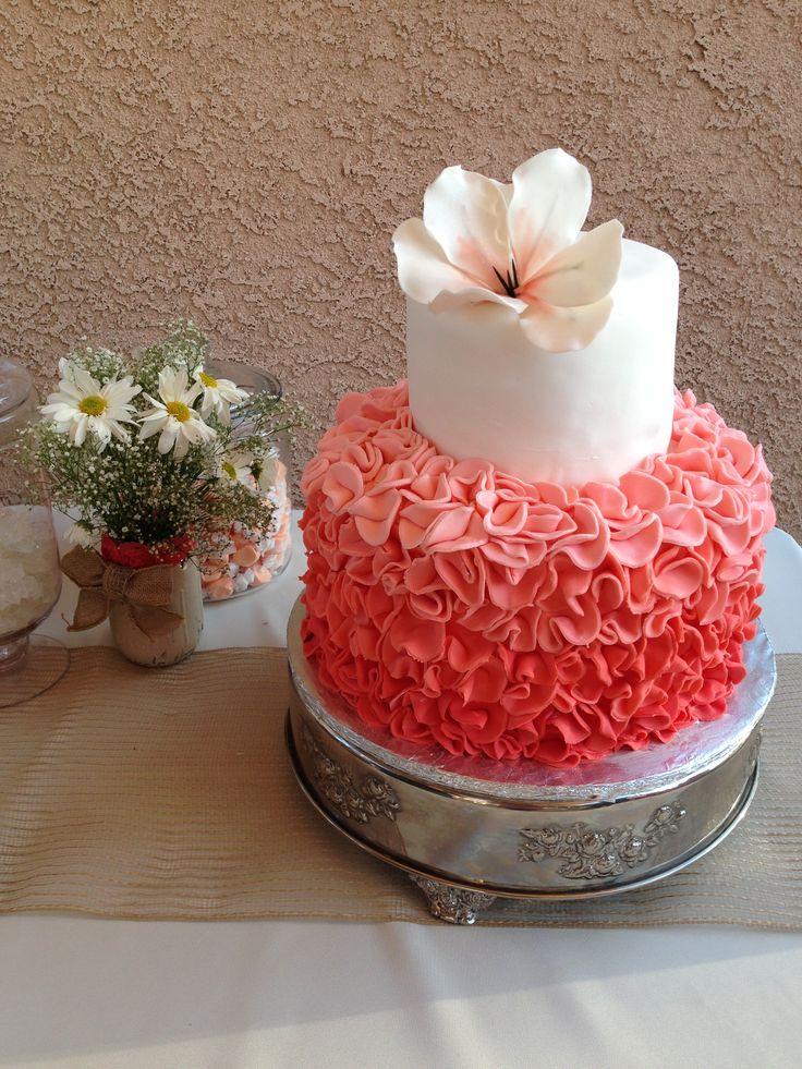 My daughters baby shower cake!!