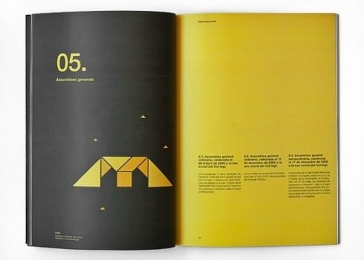 Annual Report on the Behance Network - Inside Spread