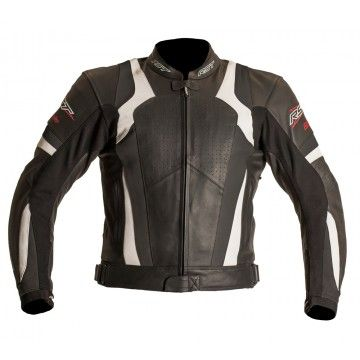 Kurtka RST BLADE white męska | RST BLADE Leather Jacket Man #Motomoda24