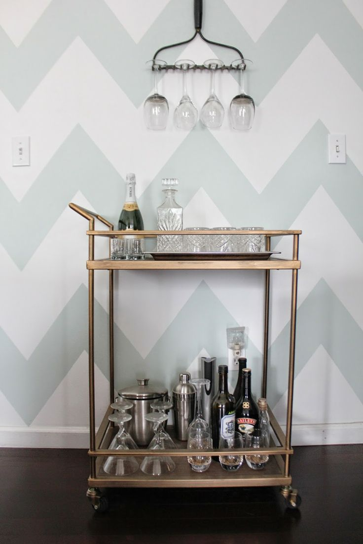 79 best wine images on pinterest bar cart styling bar carts and beverage cart