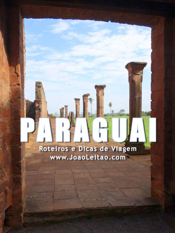 Visitar Paraguai: roteiros, guia de melhores destinos para viajar, fotos, transportes, alojamento, restaurantes, dicas de viagem e mapas.