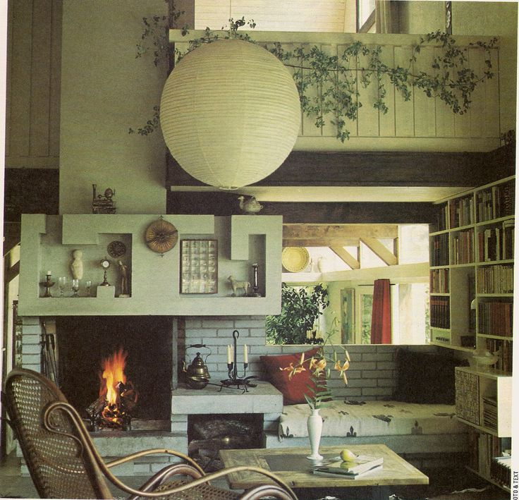 "https://flic.kr/p/7A6Xxc | 1970s  Living Room | From ""Golden Homes"" magazine c1974"