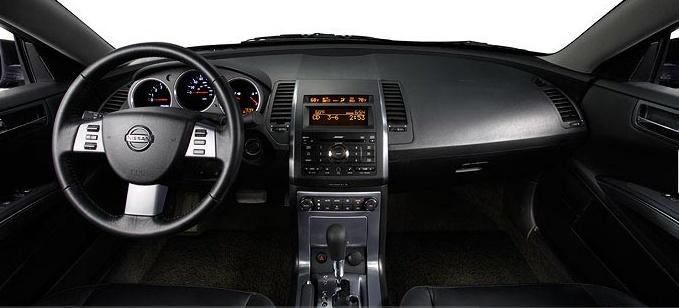 2007 Nissan Maxima, dashboard, interior