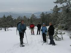 Hike & Snowshoe at Roberts Farm Preserve in Norway #Maine #GMOW #PlayLocal #Hiking #Snowshoeing