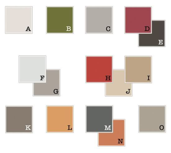 Color Palette for family pictures (except for D)