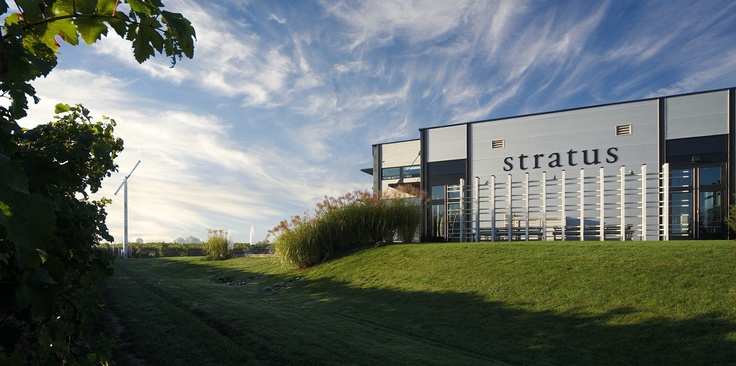 Stratus Vineyards was the first LEED*-certified winery in the world. Stratus is located in Niagara-on-the-Lake, Ontario. *Leadership in Energy and Environmental Design