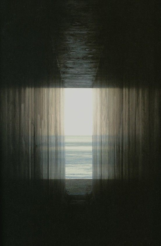 Hiroshi Sugimoto   There's such mysteriousness in this photograph, it really lures you into wanting to see more than just that gap of ocean.