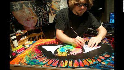 ARACNO Talentos: Artista cego que transforma música em pintura