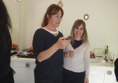 Curso de maquillaje con Sonia Marina - CAMBIO Y CORTO Peluquería Bilbao