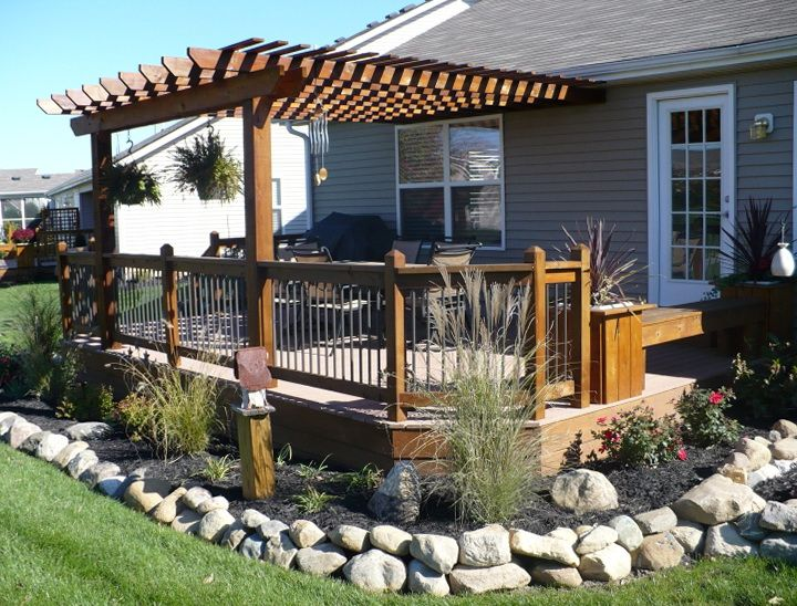 Deck Garden Ideas best tips to container gardening ideas front yard landscaping ideas garden idea Landscaping Around Deck For Privacy