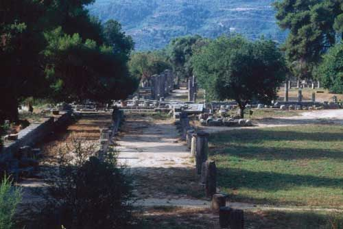 The gymnasium at Olympia. Photo:https://www.travelblog.org/Photos/6914251