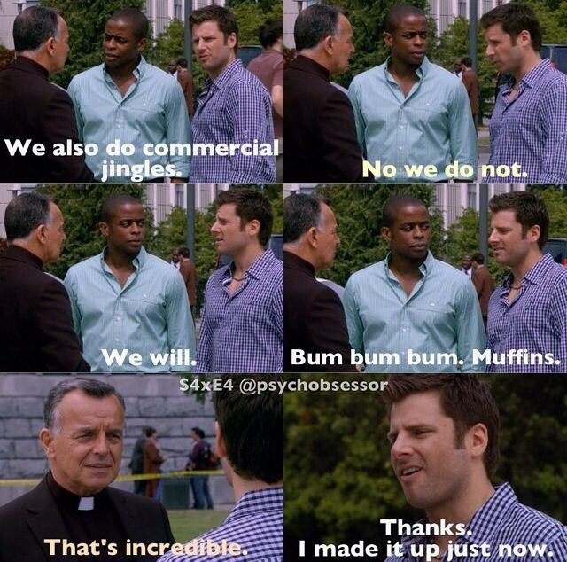 Laughter Is Best Medicine >> Ahh live for this show | Best medicine is laughter | Pinterest | Psych, Laughter and Humor