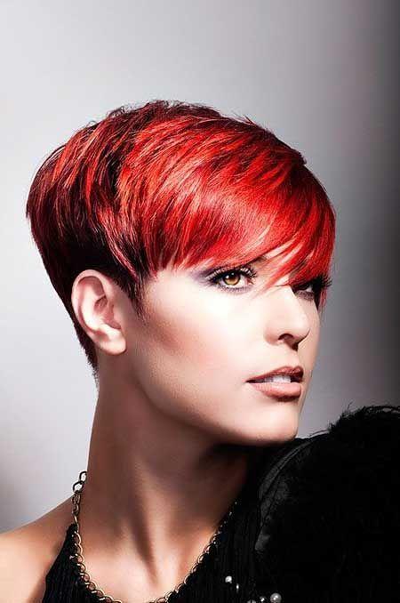 Foto taglio capelli corti femminile