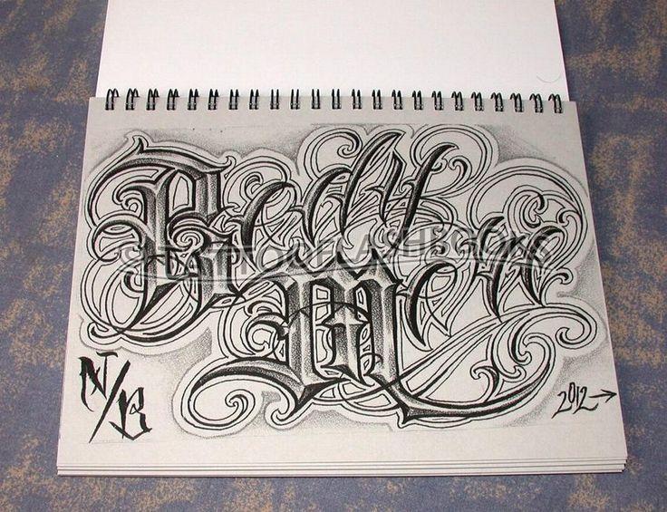Chicano Lettering Alphabet <b>lettering chicano</b> style - buscar con google  caligrafia <b></b>