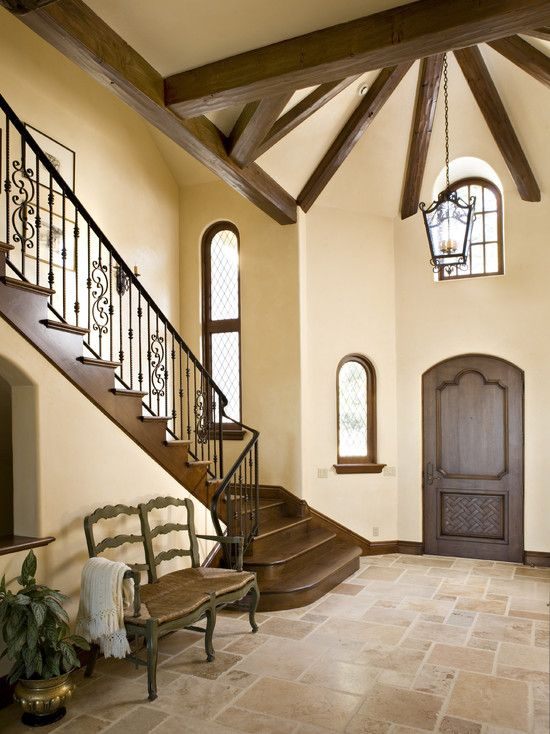 ABSOLUTELY love for next home-exactely what I want for flooring through whole house, except bedrm, dark hard wood/mathch stairs. Front door & light fixture-LOVE