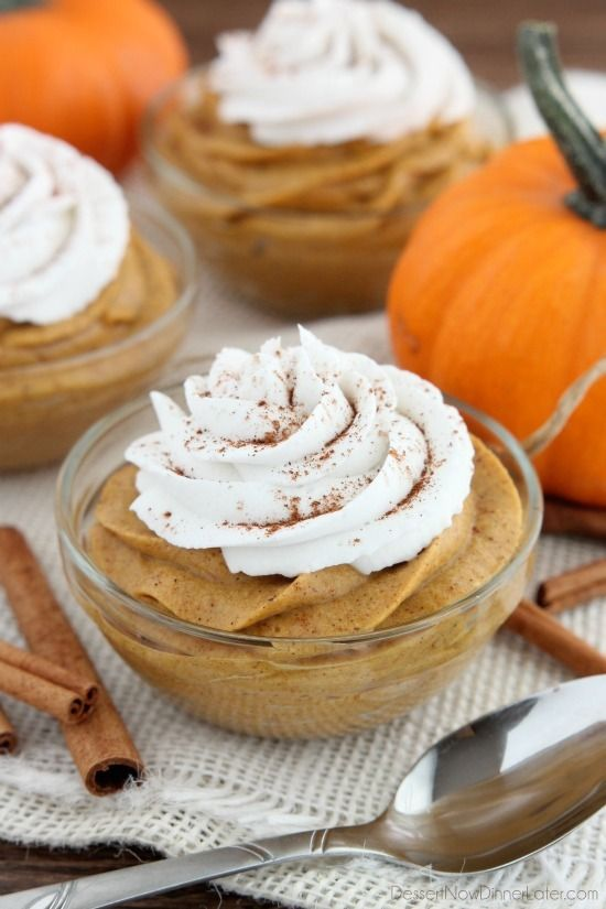 Pumpkin Mousse Recipe on Yummly. @yummly #recipe