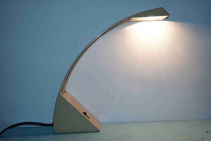 Lampada Cil Italia Arcobaleno design Marco Zotta MOMA Space Age  70s vintage