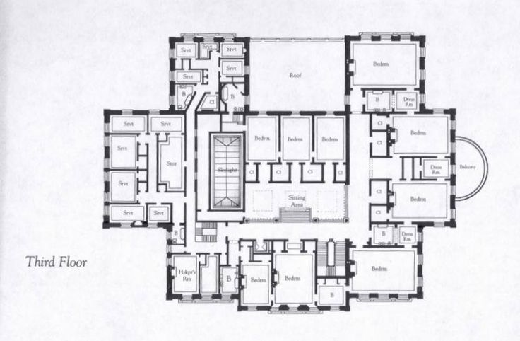 The 59 best floor plans and blueprints images on pinterest the breakers mansion floorplans for gilded age mansions malvernweather Choice Image