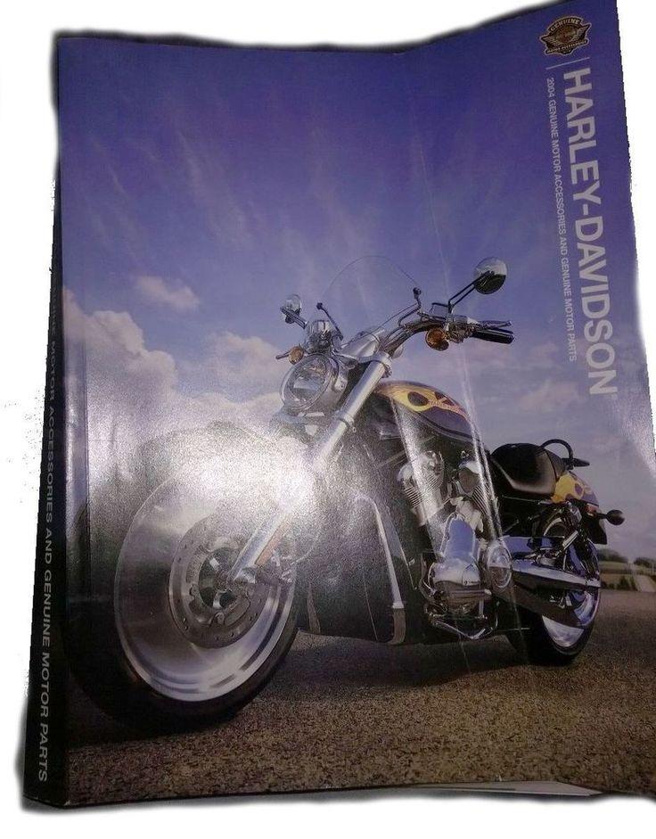 HARLEY-DAVIDSON 2004 GENUINE MOTOR ACCESSORIES & MOTOR PARTS CATALOG (NEW)