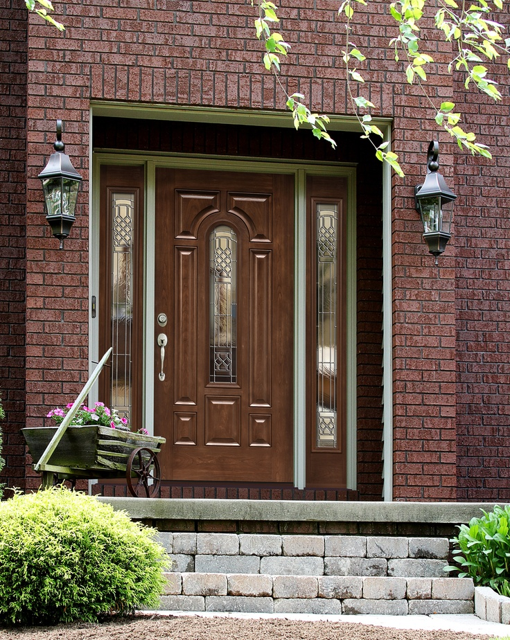 Fiberglass Wood Look Front Doors