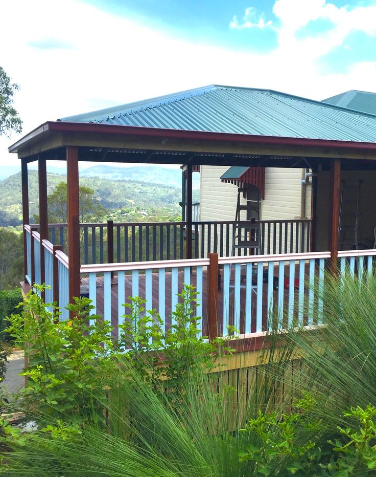 a deck with a view perfect for al fresco dining decking calculator