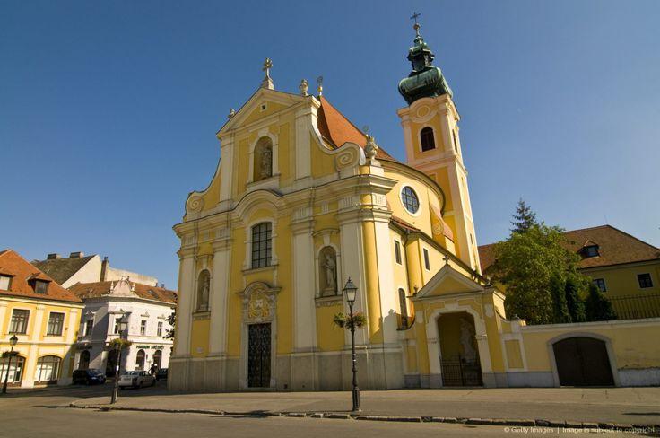 The town of Gyor, Hungary, Europe