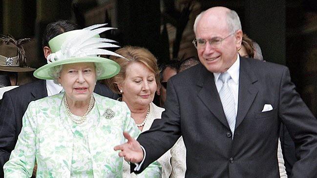 New year's honours list: Queen Elizabeth II awarded former Australian Prime Minister John Howard an Order of Merit in 2012.