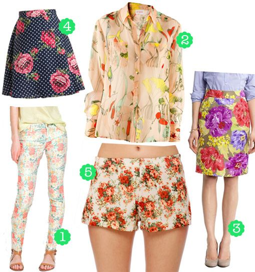 Floral fashion finds for summer!