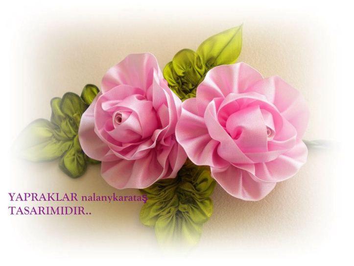 Kurdeleden Çiçek Yapımı - El Sanatları ve Hobi Sitesi - El Sanatları ve Hobi Sitesi