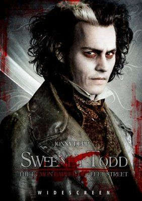 Sweeney Todd The Demon Barber Of Fleet Street 2007 Movie Poster Tshirt Mousepad Movieposters2