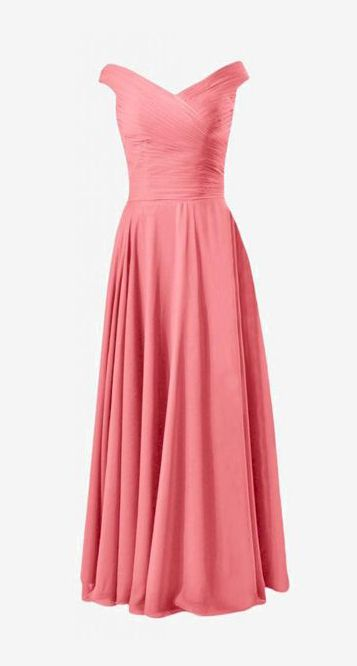 DaisyFormals Long Off-Shoulder Bridesmaid Dress