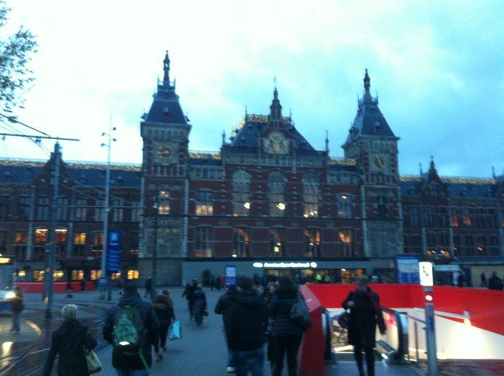Amsterdam station!!