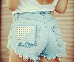 44 best High Waisted Shorts images on Pinterest