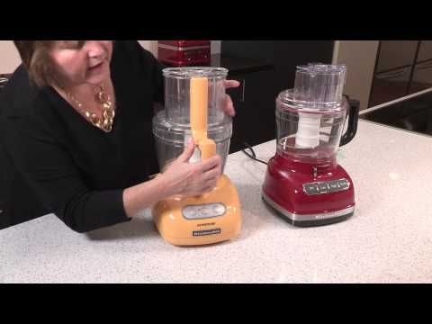 KitchenAid Food Processor Assembly - YouTube