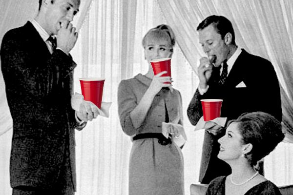 Beyond Beer Pong: Adult Drinking Games