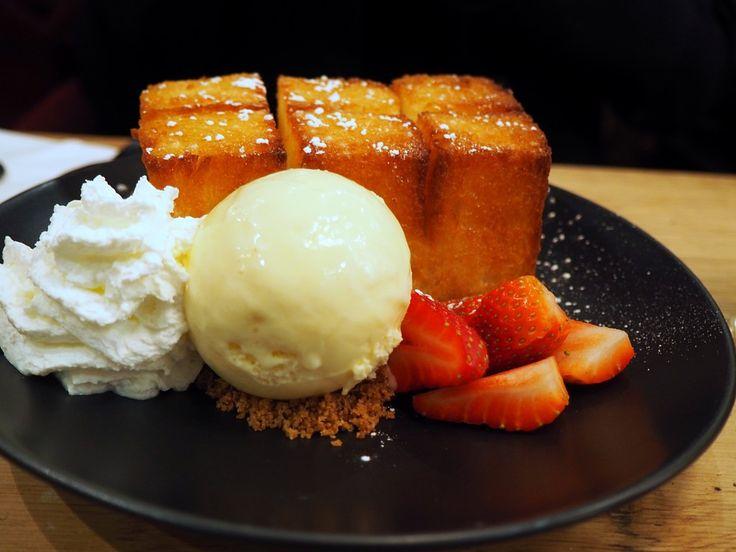 Spot Dessert Bar: Golden Toast