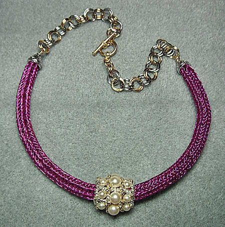 images of viking knit jewelry | Viking Knit Tutorial - Viking Knit Jewelry ... | Knitting helps and i ...