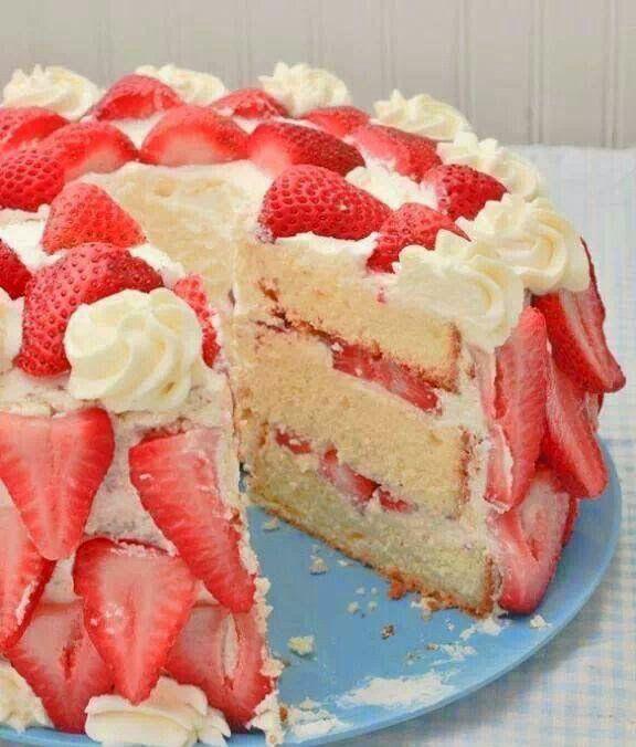 Strawberry Shortcake Recipe ~ Great Meals. Dessert And Cake Recipes.