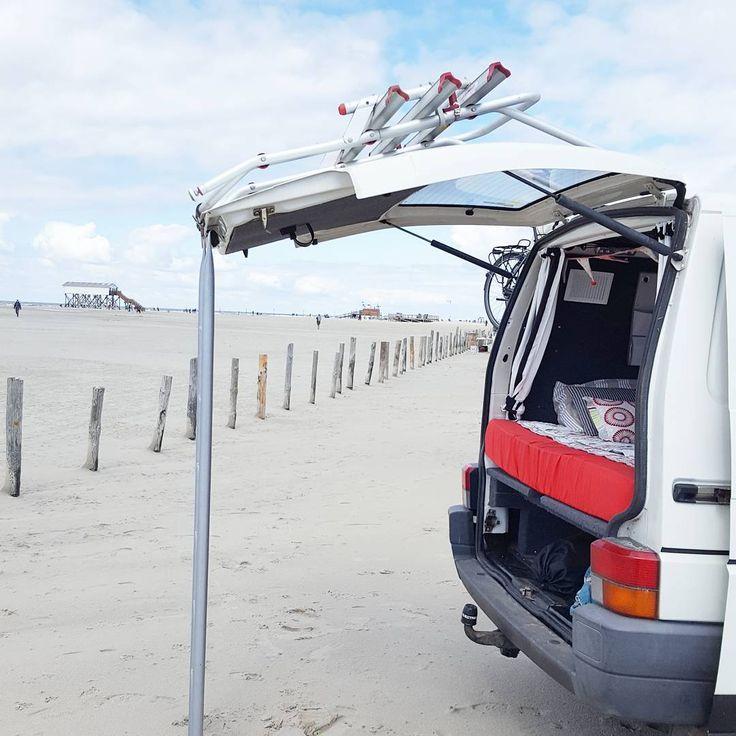 ... und gleich einen schönen Strandplatz gefunden 💓💙💓🙌🐚🦀🚩⚓ #strandpause #strand #strandzeit #strandliebe #nordsee #meer #beach #ocean#spo #stpeterordingstrand #stpeterording #meerliebe #frei #freiheit #jippi #vanlifeexplorers #vanlife #travel #campervan #vanlifers #vanvibes #optoutside #vw #vwbulli #vwlife #bulli #bulliliebe #bullieslife #thelifediaries #camperlifestyle