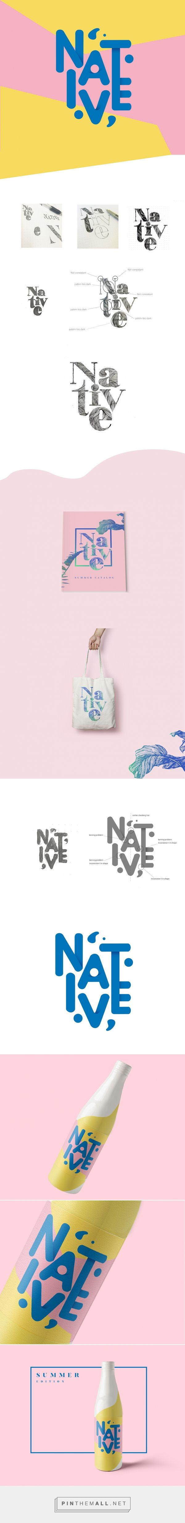 NATIVE-Summer packaging design by Mint Li (USA) - http://www.packagingoftheworld.com/2016/08/native-summer-promote.html
