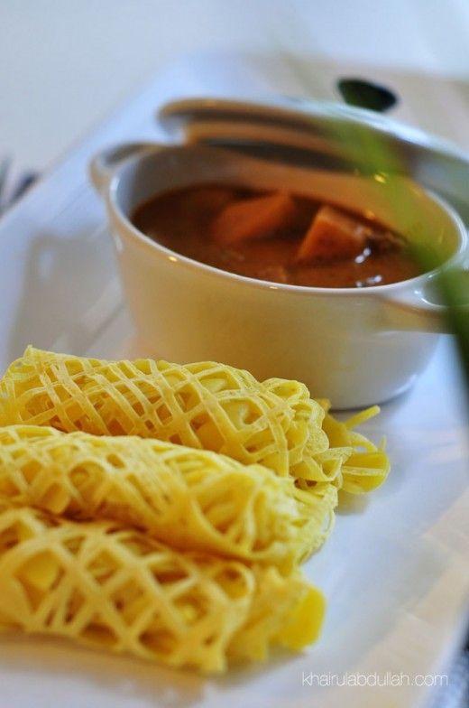 Cara Mudah Membuat Roti Jala Tanpa Acuan   malaysian cooking....   Pi ...