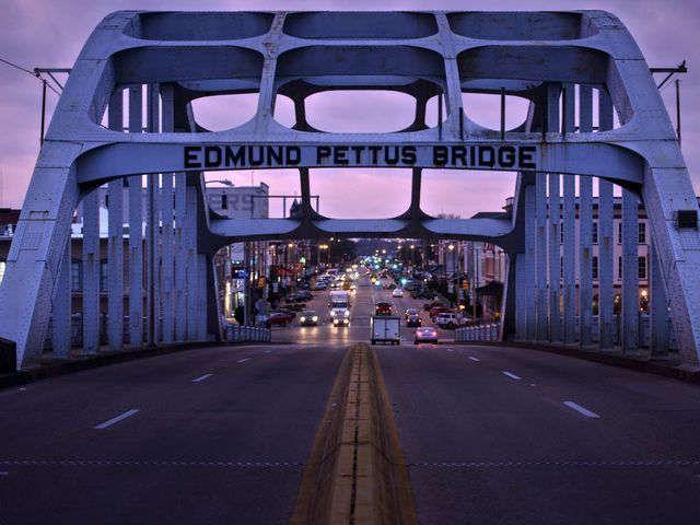 Iconic Selma bridge has a racist back story