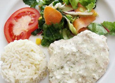 Citromhab: Kapros-tejszínes csirkemell