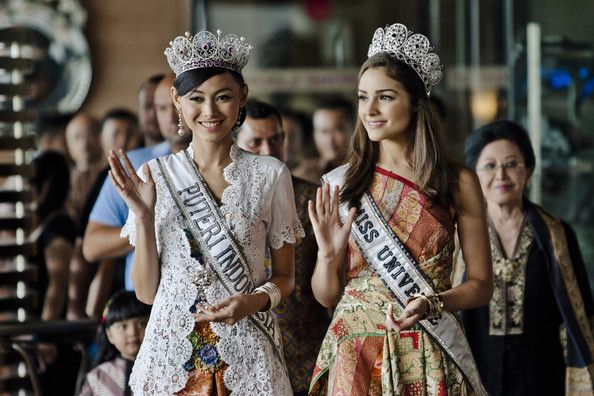 MU'12 and Miss Indonesia 2013
