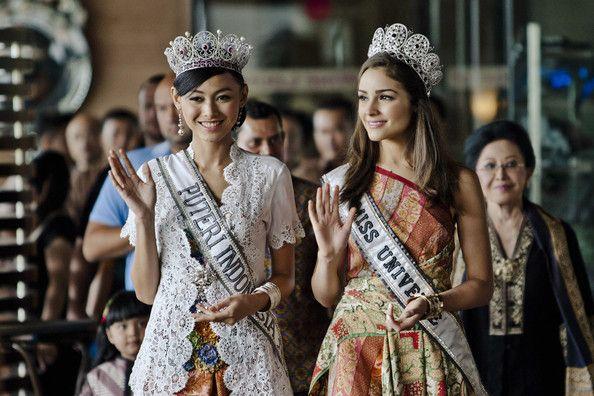 MU'12 and Miss Indonesia 2013