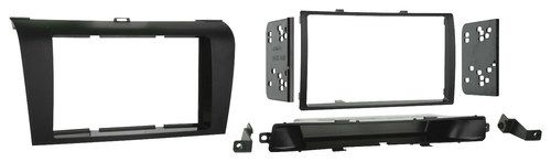 Metra - Double DIN Installation Kit for 2004 - 2008 Mazda 3 Vehicles - Black
