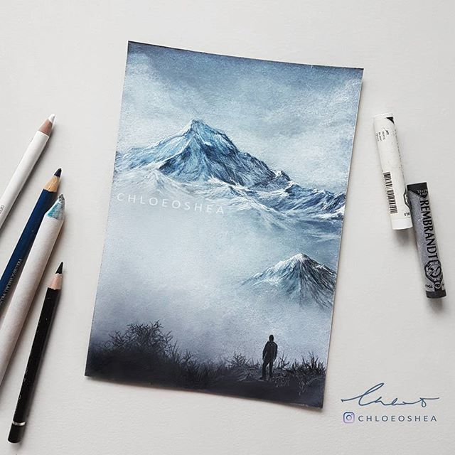 Misty Mountains in New Zealand. -Inspired by @jasoncharleshill.