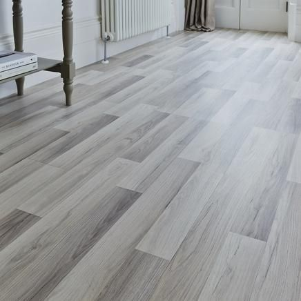 Professional Light Grey Oak laminate flooring